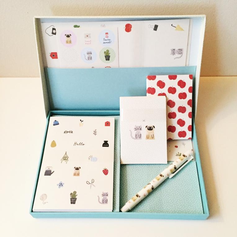 kikki.k card box set